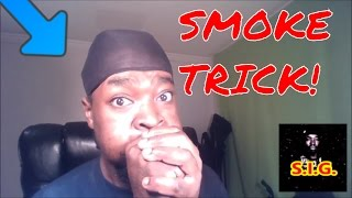 TRY IT! Smoke Trick With Just Your HAND AND AIR! NO Vape, NO Cigarette, Hookah OR ANYTHING
