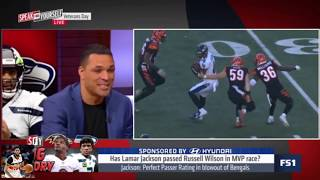 Jason Whitlock Shocked Has Lamar Jackson passed Russell Wilson in MVP race? | Speak For Yourself