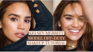 KELSEY MERRITT (model off-duty) MAKEUP TUTORIAL! | DACEY CASH