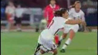 Mia Hamm and Julie Foudy Highlight Video1