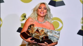 Lady Gaga racks up 3 GRAMMY Awards at 2019 Grammy Awards