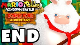 Mario + Rabbids Kingdom Battle: Donkey Kong Adventure DLC - Gameplay Walkthrough Part 8 - ENDING!