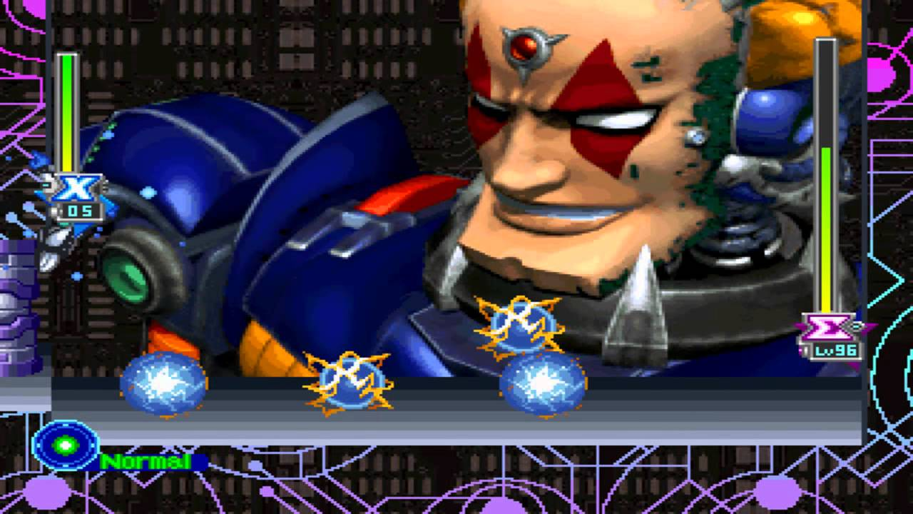 Mega man x5 (video game, 2d platformer, science fiction, dystopian.