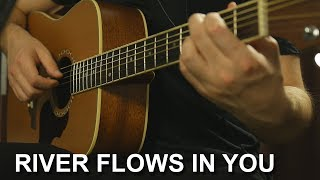 Yiruma - River Flows in You (Разбор на гитаре + Табы)
