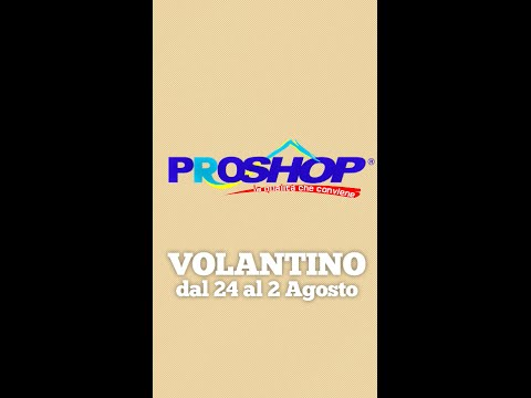Proshop Volantino - SWA Advertising