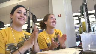 Duke Physical Therapy Students Volunteer at the Valor Games  video