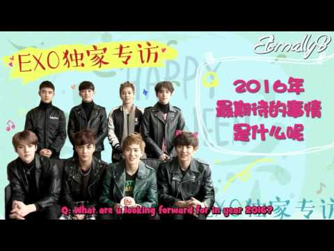 [ENG SUBS] 151226 Mango TV EXO interview