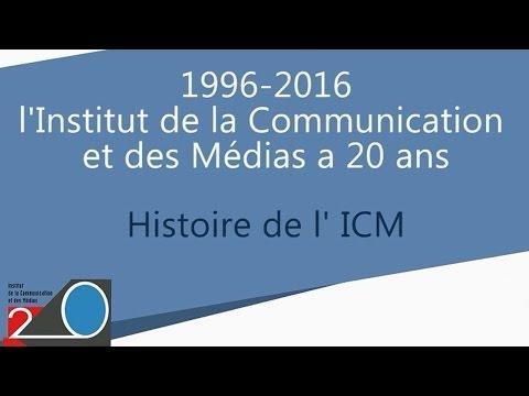 Histoire de l'ICM