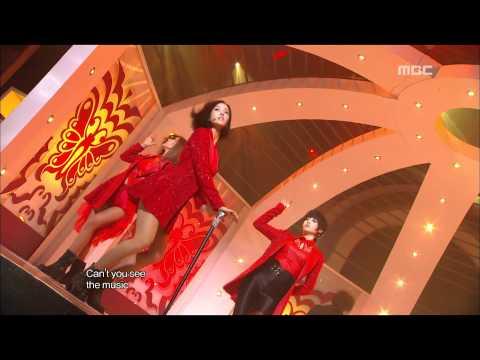 T-ARA - CRY CRY 티아라 - 크라이 크라이 Music Core 20111119