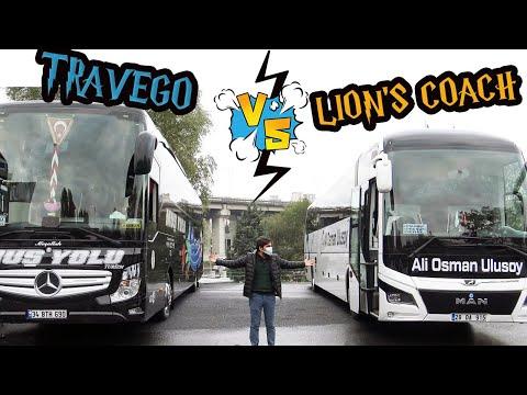 İki Kral; Hangisi Daha İyi ? | M.A.N Lion's Coach VS Mercedes Benz Travego