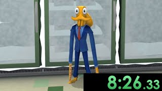 I tried speedrunning Octodad and became an expert at living in a constant struggle