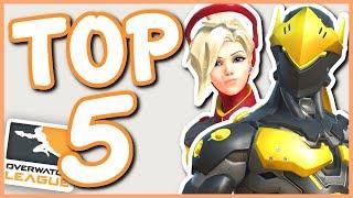 Overwatch - TOP 5 OVERWATCH LEAGUE SKINS