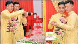 Đám cưới đồng tính của cặp đôi điển trai ở Đồng Tháp gây xôn xao cư dân mạng