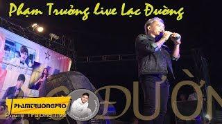 """Phạm Trưởng bị """"bóp"""" quá mạnh tay trên sân khấu - live - Lý Sơn"""
