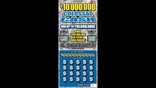 $30 - $30 MILLION COLOSSAL CASH - BIG WIN! Lottery Scratch Off instant tickets   NEW TICKET TUESDAY!