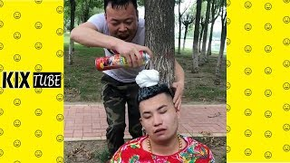 Watch keep laugh EP322 ● The funny moments 2018