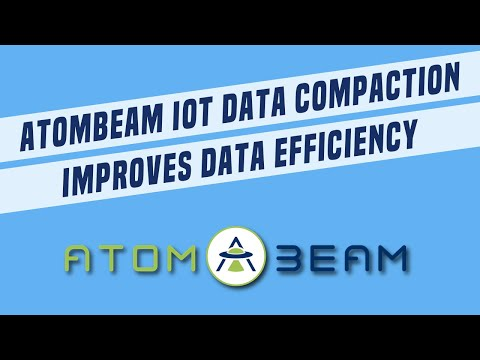 AtomBeam's patented, AI based IoT data compaction improves IoT data efficiency, reducing network bandwidth and storage usage by up to 75%, while using less computing power than compression.