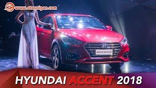 Khám phá nhanh Hyundai Accent 2018 1.4L AT đặc biệt; giá 540 triệu
