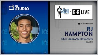 NBA Prospect RJ Hampton Talks Choosing New Zealand Pro Team over NCAA w/Rich Eisen | Full Interview
