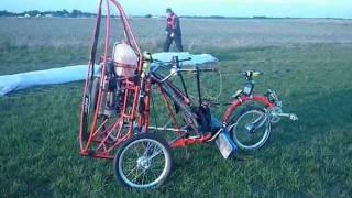 Un paramotore speciale