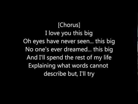 Scotty McCreery - I Love You This Big [Lyrics]