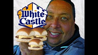 WHITE CASTLE® Cheesy Sliders Review!