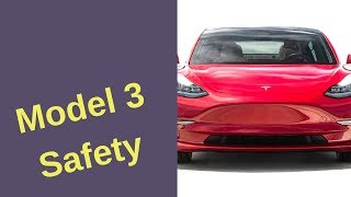 3 Features That Earn Tesla Model 3 Top Safety Ratings