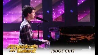 Joseph O'Brien: He's a Shy Small-Town Boy But He Has A Dream! | America's Got Talent 2018