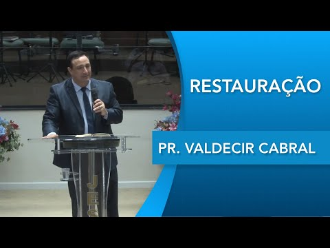 Pr. Valdecir Cabral   Não temas   Isaías 43.1   20 02 2020