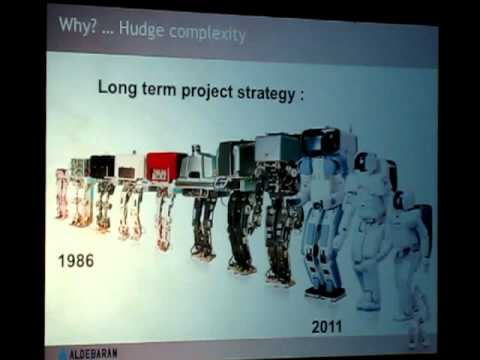 Nao Lecture by CEO of Aldebaran Robotics: Why Humanoids.MOV