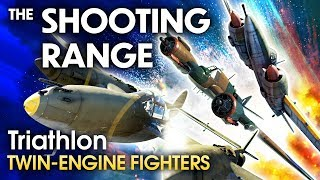 THE SHOOTING RANGE #155: Triathlon — twin-engine fighters / War Thunder