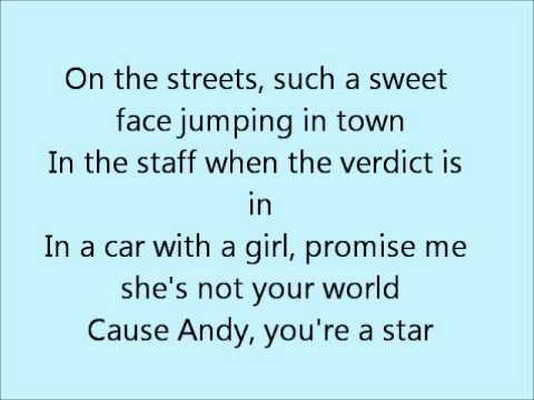 Andy, You're a Star - The Killers