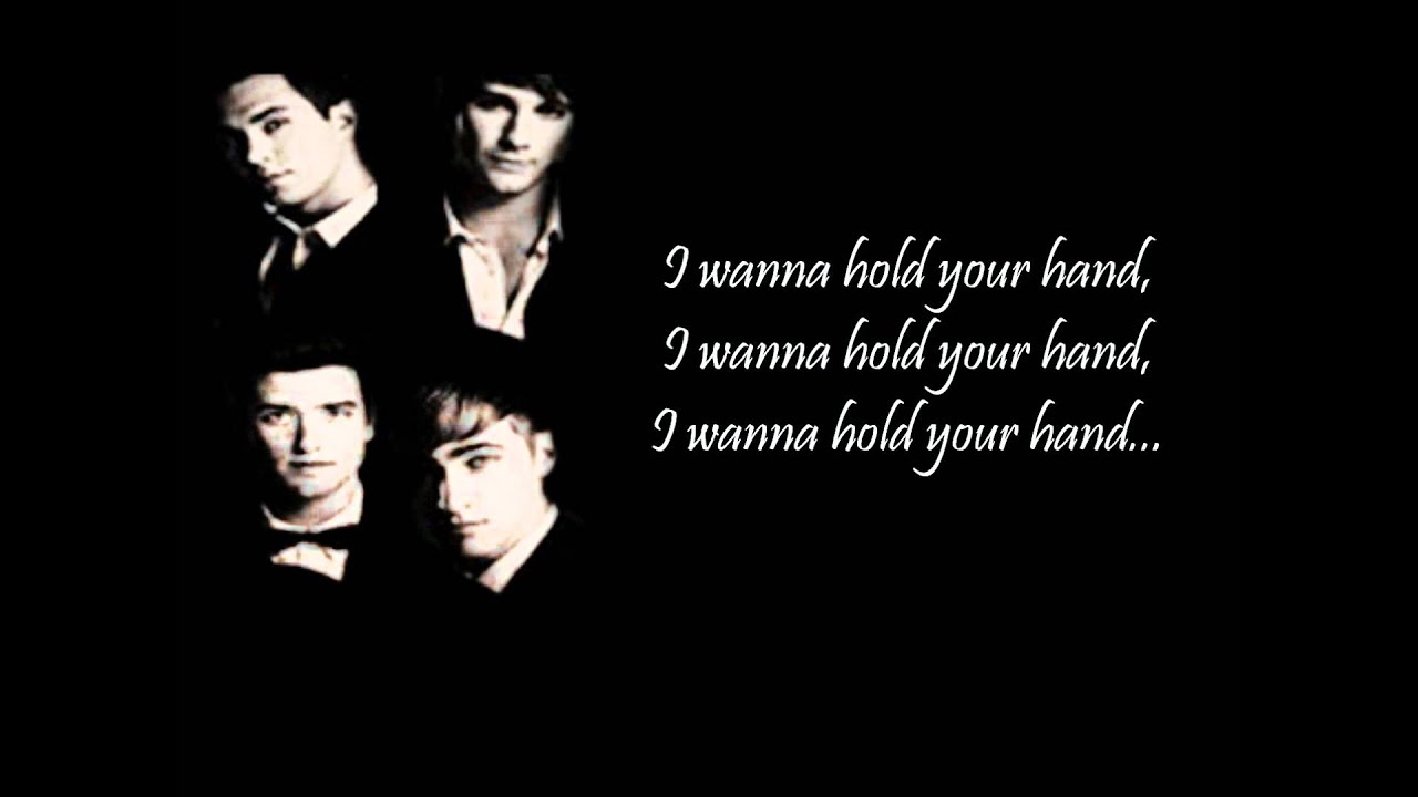 Big Time Rush- I wanna hold your hand (cover) lyrics - YouTube