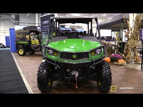 2017 John Deere Gator XUV 590i S4 Utility ATV - Walkaround - 2016 Toronto ATV Show