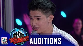 """Pinoy Boyband Superstar Judges' Auditions: Joao Constancia – """"Grow Old With You"""""""