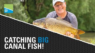 A thumbnail for the match fishing video Catching BIG Canal Fish On The Pole | Preston Innovations