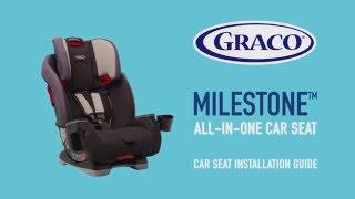 GRACO Milestone car seat installation guide