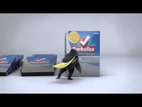 OfficeMax 2013 Gorilla Commercial TurboTax
