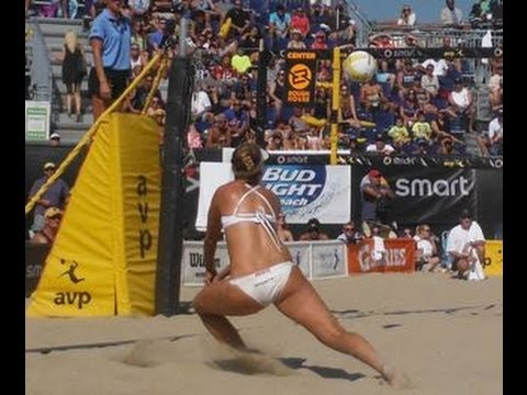 April Ross - Beach Volleyball - YouTube