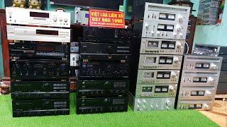Thông Báo Hàng Về Ngày 18/10/2018. Nhiều thiết bị audio phục vụ anh em có nhu cầu. Lh - 0376601990.