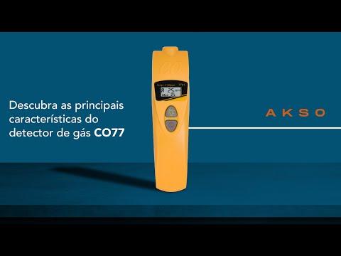 Descubra as principais características do detector de gás CO77