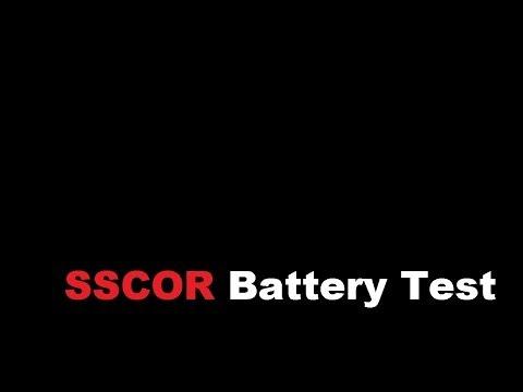 SSCOR Battery Test