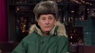 Bill Murray on The Late Show with David Letterman 2 - Part 1