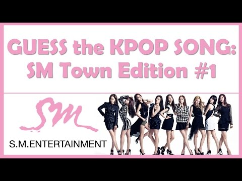 Guess the Kpop Song: SM Town Edition #1