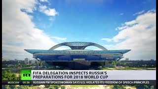Luzhniki Stadium: FIFA delegation inspects Russia's preparations for World Cup 2018