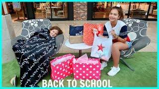 BACK TO SCHOOL  CLOTHING SHOPPING / HAUL   SISTERFOREVERVLOGS #553