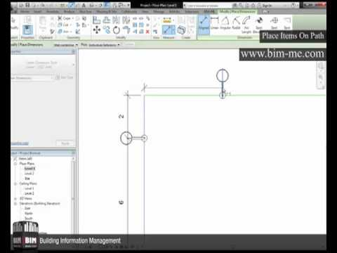 Revit Place Items On Path - Divide In Revit.mp4