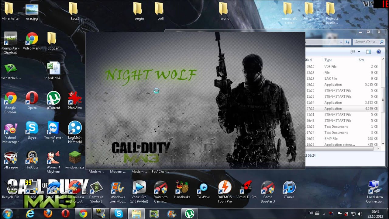 COD Modern Warfare 2 couldn't write a file. The hard drive is probably full?