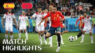 Spain v Morocco - 2018 FIFA World Cup Russia™ - Match 36