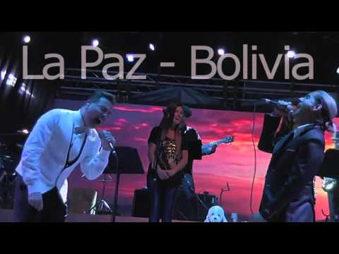 volver amar Cristian Castro ft Daniel Rioja en Bolivia